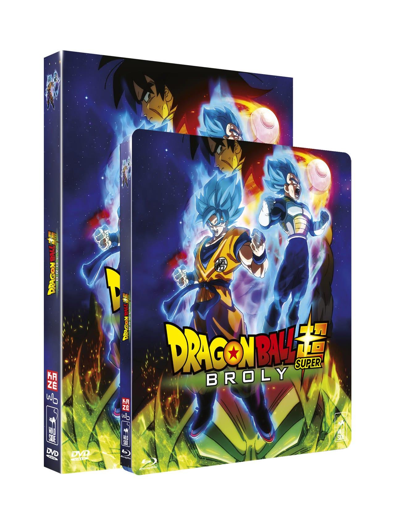 Dragon Ball Super Broly Blu-Ray et DVD